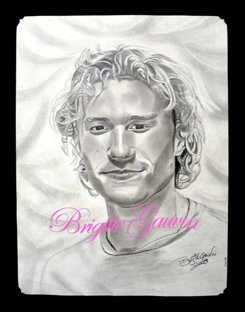 Heath Ledger by BrigitteGo